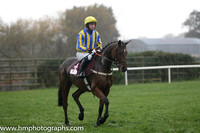06 Degenerous and Mr N McParlan - - 06th (4 ,royal blue and yellow stripes ) Trainer - Mrs S Dawson