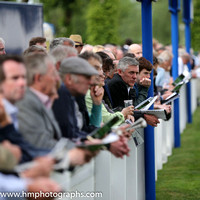 Spectators at Windsor Racecourse