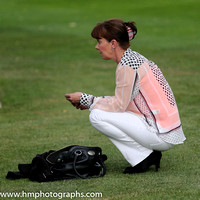 Spectator at Windsor Racecourse