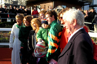 001 - AP McCoy and family at the WKD Hurdle at Down Royal  - CU2D9015-2