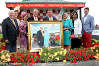 Presentation at the Curragh on Derby Day