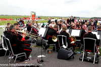 Number 1 Army Band at the Irish Derby at the Curragh