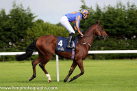 1st Johannes Vermeer ( 4 ) - royal blue, orange disc ( Joseph O'Brien ) : Trainer - A P O'Brien