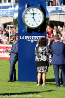 Passing the time of day at the Longines Irish Champions weekend at Leopardstown