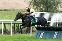 01st Tigroney ( 1 , black  yellow diabolo ) and Donagh Meyler (7) - Trainer : Miss Elizabeth Doyle - Owner : P.Bradford