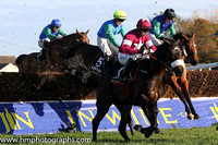 02nd Clarcam (FR) ( 1 , maroon, white hoop ) and B.J. Cooper - Trainer : Gordon Elliott - Owner : Gigginstown House Stud