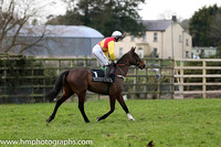 04 Davyroy ( 1 , red, yellow sash ) and A.P. Heskin - Trainer : C.A.McBratney - Owner : Mrs David McBratney