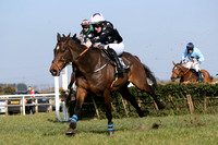 01st Mount Beckham ( 12 , black, white stars ) and S.W. Flanagan - Trainer : Miss Clare Louise Cannon - Owner : G.N. Cannon