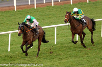 02nd There You Go and M P Walsh ( 12 , emerald green and orange hooped ) Trainer - Mrs J Harrington , Owner - John P McManus