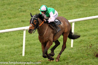 01st Camlann and Rachael Blackmore ( 4 , emerald green and mauve hlvd ) Trainer - J J Hanlon , Owner - Mrs A F Mee