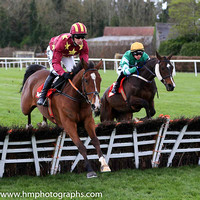 03rd Tin Soldier and D E Mullins ( 6 , green, white star, yellow cap ) Trainer - W P Mullins , Owner - Philip J Reynolds