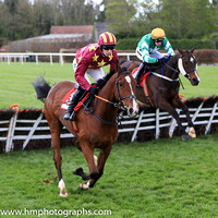 04th Monalee and D J Mullins ( 3 , maroon, yellow stars ) Trainer - H de Bromhead , Owner - Barry Maloney