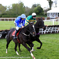 02nd Penhill and R Walsh ( 4 , light blue, white seams ) Trainer - W P Mullins , Owner - Anthony Bloom