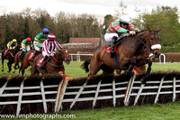 01st Magic Of Light and R P Treacy ( 24 , light green and red hoops, white cap ) Trainer - Mrs J Harrington , Owner - Mrs John Harrington
