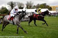 12th Crosshue Boy and Rachael Blackmore ( 1 , black, yellow epaulettes ) Trainer - Sean Doyle , Owner - N J Heffernan
