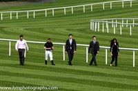 The O'Briens walk the course at Leopardstown