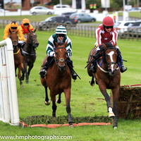 08th It's Paddys Day and Rachael Blackmore ( 5 , white, dark green chevron ) Trainer - G J Power , Owner - Shane Leahy