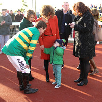01 - AP McCoy and family at WKD Hurdle at Down Royal - CU2D9024-2
