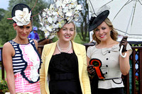 Some of the finalists in the Best Dressed Competion at Down Royal -FT8E5725-e