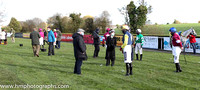 The parade ring before the Ladbrookes Champion Steeplechase at Down Royal on 31st October 2020
