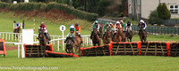 fell Arctic Warrior and M P Walsh ( 7 , orange  and green hoops ) Trainer - W P Mullins , Owner - John P McManus