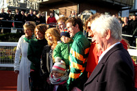 01 - AP McCoy and family at the WKD Hurdle at Down Royal  - CU2D9014-2