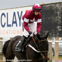 02 Thunder and Roses and B J Cooper - - 02nd (7 ,maroon, white star ) Trainer - D T Hughes