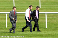 Walking the course at Leopardstown