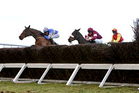 Dundrum (Blue with orange hoops) Winner , Jockey B J Geraghty - FT8E9958-e
