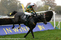 05 FormidableOpponent and P Carberry - - 05th (5 ,emerald green and orange hooped ) Trainer - N Meade