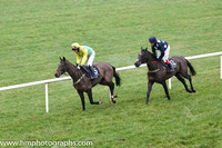 01 Drumlee Lad and Mr N McParlan - - 01st (5 ,yellow and emerald green diabolo ) Trainer - S McParlan 7 02 Shanliss and Mr J P McKeown - - 02nd (12 ,dark blue, white stars, dark blue cap ) Trainer - P