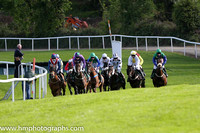 The start of race 2 at Downpatrick