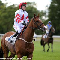 4th No 7 Pat's Legacy (USA) (1) - Jockey: Charlotte Jenner - Trainer: P Phelan - Colours: white, red star