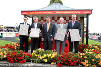 Trainer Legends at the Curragh on Irish Derby Day