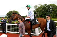 1st No 4 Boughtforasong (IRE) (3) - Jockey: S Corby (5) - Trainer: Georgios Pakidis - Colours: white, three green spots