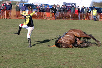 CROSSHUE DUDE and R James ( 4 , BLACK,yellow epaulettes; yellow,black stars sleeves; yellow cap ) Trainer: Donnchadh Doyle,, Owner : Syndicate D  N