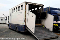 Willie McCreery Horse Box at Down Royal