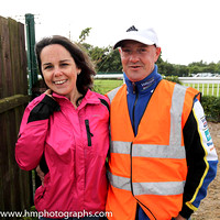 Spectators at Downpatrick Racecourse