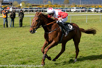 06th Mia?s Anthem ( 5 , white, red triple diamond ) and D Meyler - Trainer : N C Kelly - Owner : Don?t Ask Now Syndicate