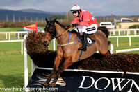 03rd Merrion Row and D E Mullins ( 8 , red, light blue stars ) Trainer - P J Rothwell , Owner - Oliver Barden