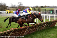01st Tyrrell's Succes and Mr N McParlan ( 11 , blue, redstars, yellow sleeves ) Trainer - A Stronge , Owner - High Flying Hooves Syndicate