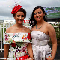 Olivia McAvoy and Eimear Courtney at Down Royal