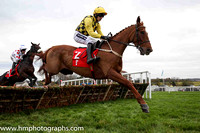 01st Melon and Ruby Walsh (2, yellow and black check) Trainer W P Mullins, Owner Mrs J Donnelly -FT8E9701