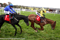 01st Melon and Ruby Walsh (2, yellow and black check) Trainer W P Mullins, Owner Mrs J Donnelly -FT8E9713