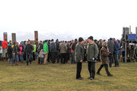 Spectators at Tyrella Point to Point