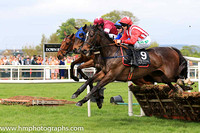 03rd Colwinston and Rachael Blackmore ( 9 , white and red stripes ) Trainer - Miss S Barkley , Owner - Mrs R McAloon