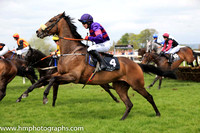 15th Countermand and M A Enright ( 4 , purple and maroon hoops ) Trainer - Mrs D Foster , Owner - Richard Wilmot-Smith