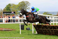 01st Canardier and A E Lynch ( 3 , light rgreen, royal blue star ) Trainer - D A McLoughlin , Owner - Slattery Bloodstock Limited