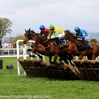 08th All For Nothing and C D Maxwell ( 1 , yellow, green star ) Trainer - D A McLoughlin , Owner - Sean F Gallagher