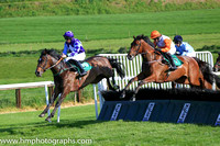 13th Kilbrew Gold and D Robinson 5 ( 7 , white, oraange hoop ) Trainer - H de Bromhead , Owner - Airton Partnership